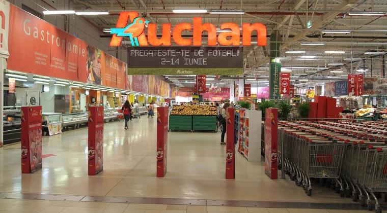Auchan incepe toamna in forta: face primii pasi in online si sta cu ochii pe comertul de proximitate