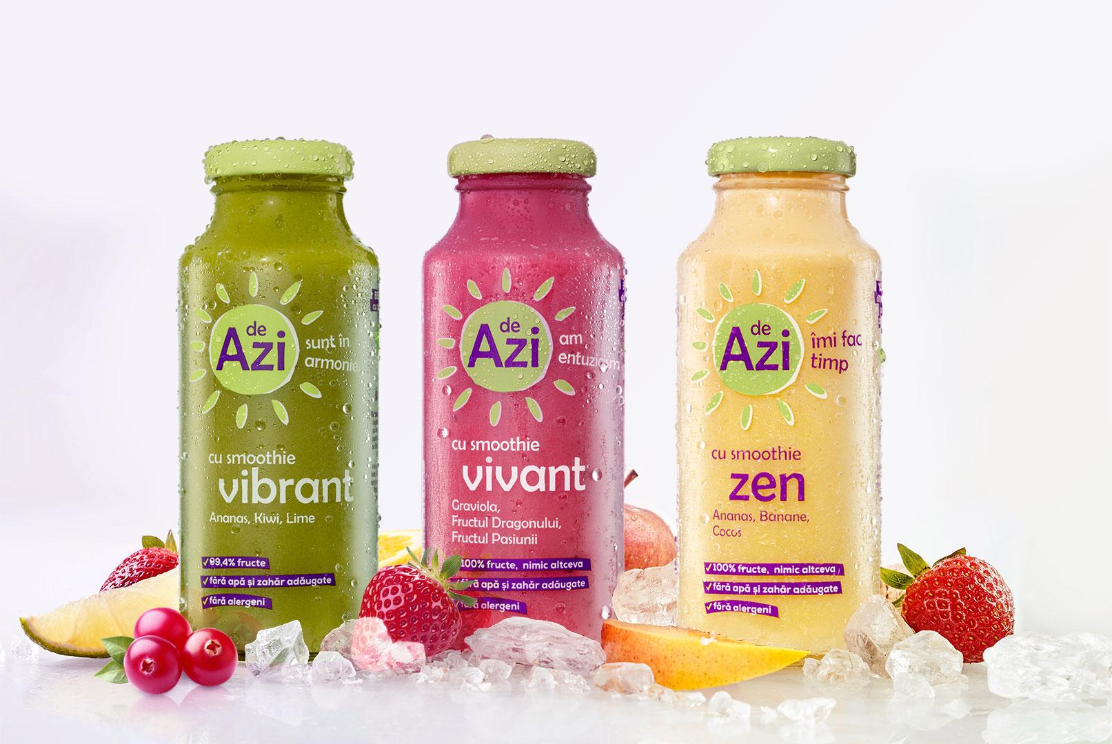 """Prefera Foods investeste 4 milioane de euro in noua gama de produse """"de Azi"""", care include supe, sucuri si smoothie-uri"""