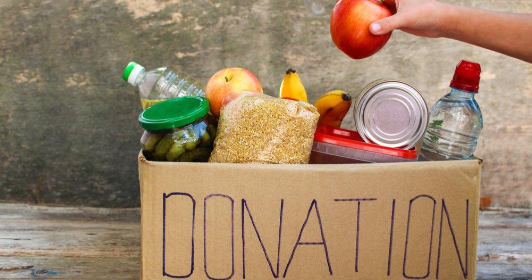 Banca pentru Alimente a colectat intr-o luna 14.500 kg de alimente, jumatate din intreaga cantitate donata in 2019