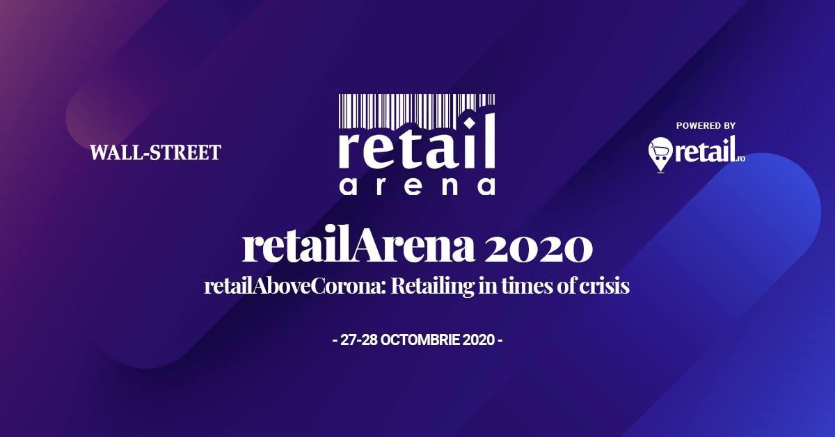 retailArena revine cu cea de-a opta ediție, într-un format hybrid: RetailAboveCorona - Retailing in times of crisis, pe 27 și 28 octombrie