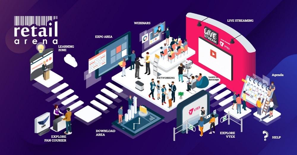 retailArena 2020 – retailAboveCorona: Retailing in times of crisis, ediția hibrid în platforma IC Virtual Events, a strâns o audiență impresionantă