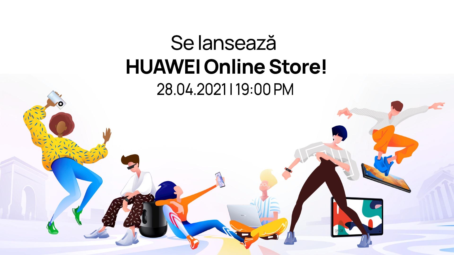 Huawei își aduce magazinul online în România: vouchere de 6.000 de lei
