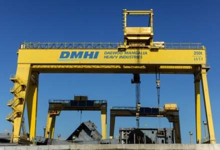 Santierul naval Daewoo Mangalia si-a dublat afacerile in 2015, la 2 miliarde de lei