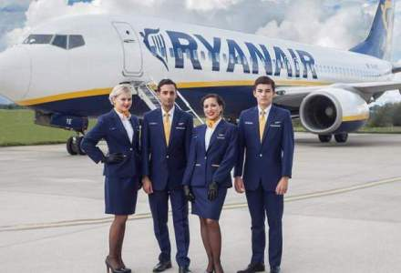 Ryanair recruteaza personal in Bucuresti si Cluj. Care sunt conditiile de angajare