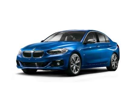 BMW prezinta prima imagine oficiala cu Seria 1 Sedan