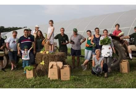 Bihorenii care au lansat o afacere cu legume mai sanatoase decat cele din traditionalele piete