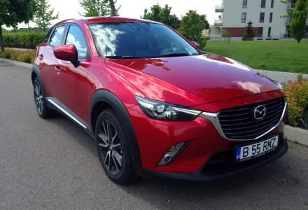 Mazda CX-3, un crossover cu parfum de hot-hatch, care emana sportivitate prin toti porii