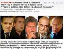 WikiLeaks: Topul oligarhilor...