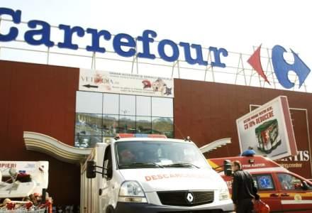 Carrefour: Vanzarile au crescut cu 2,9% in primul semestru, la 36,3 miliarde de euro, confirmand asteptarile