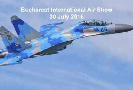 Cel mai mare show aerian din Romania, BIAS: acrobatii cu aeronave de lupta, efecte pirotehnice, muzica si lumini