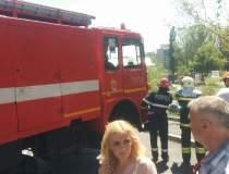 Incendiu in nordul Capitalei:...