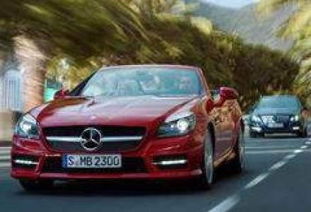 Noul Mercedes-Benz SLK Roadster costa de la 40.000 euro