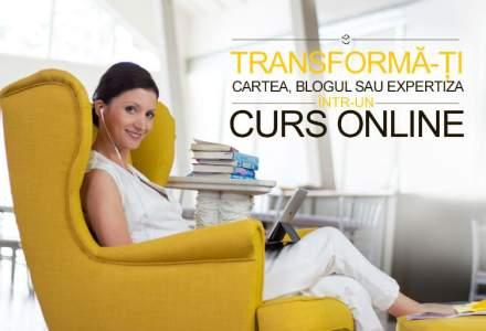 Trainerul roman care iti transforma blogul sau cartea in cursuri profesioniste