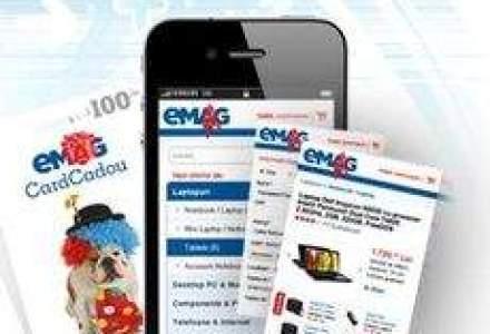 eMag a lansat versiunea mobila a site-ului. Clientii pot cumpara de pe telefonul mobil