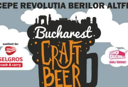(P) Peste 50 de sortimente de bere, trei tipuri de cidru si un gratar gigant, la Bucharest Craft Beer Festival