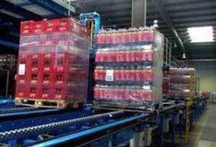 Cum arata depozitul complet automatizat al fabricii Coca-Cola din Ploiesti