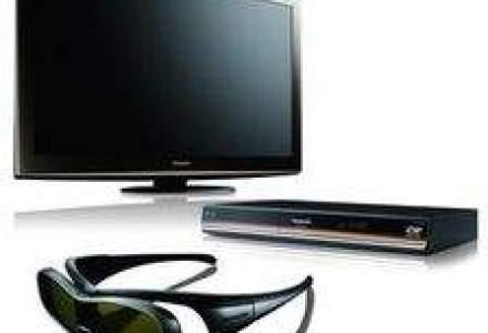 Piata televizoarelor 3D - Cate unitati cumpara romanii
