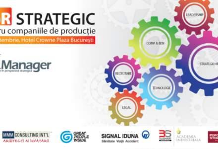 (P) HR Strategic pentru companiile de productie - 28 septembrie, Hotel Crown Plaza Bucuresti