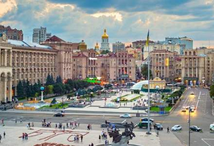 Ambasada Rusiei de la Kiev a fost atacata cu petarde inainte de alegerile legislative