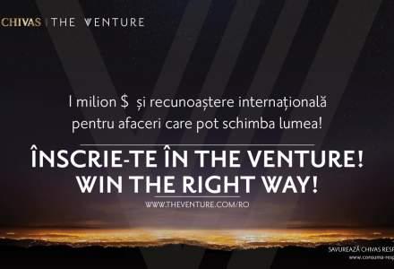 """(P) Apel pentru antreprenoriat cu impact social: Chivas a lansat a doua editie """"The Venture"""" in Romania"""