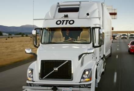 Otto a efectuat primul transport de marfa din lume cu un camion fara sofer