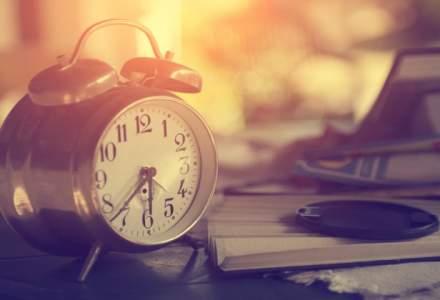 Romania trece duminica la ora de iarna. Ceasurile se dau inapoi cu o ora, 30 octombrie va fi cea mai lunga zi din an