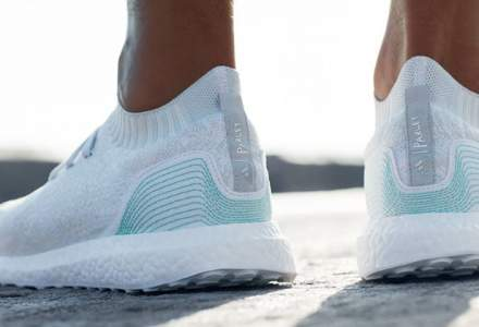 Adidas a facut mii de pantofi sport din gunoaie: iata cand apar in magazine si cat costa o pereche