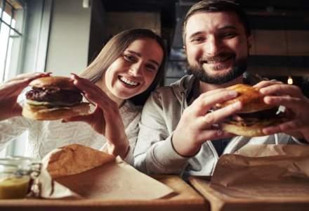 Finantistul care face burgeri in centrul Bucurestiului