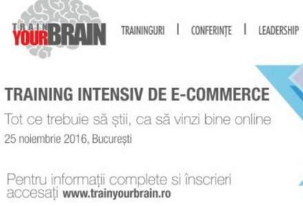 (P) Training Intensiv de E-commerce cu Train Your Brain