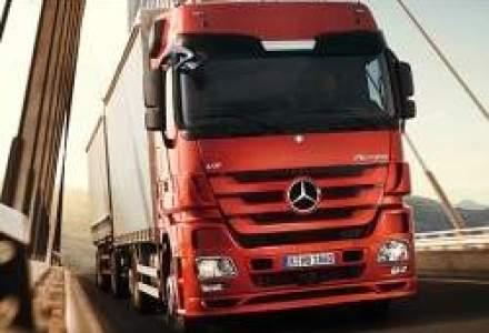 Stelian Campean, Mercedes-Benz Trucks: Creste cererea de camioane de transport de lunga distanta