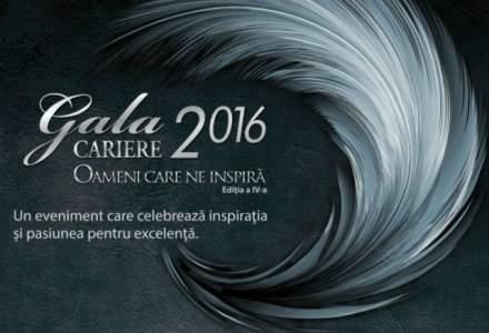 (P) Gala Premiilor CARIERE, Editia a IV-a, 2016 - OAMENI CARE NE INSPIRA