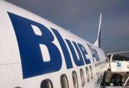 Blue Air ar putea intra in insolventa, la cererea DHL