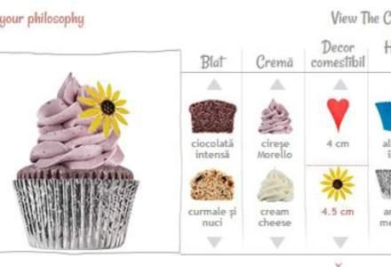 (P) Gateste online un cupcake - Primul configurator pentru clienti