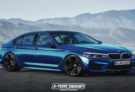 Noua generatie BMW M5 va avea tractiune spate la apasarea unui buton