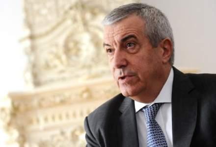 Calin Popescu Tariceanu a fost ales pentru un nou mandat de presedinte al Senatului