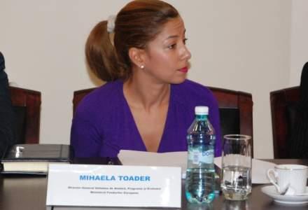 Mihaela Toader, avizata la Fonduri europene: Am obiective simple si putine, grad de absorbtie de 72,5% pana in 2020