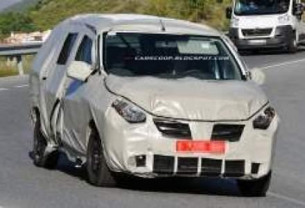 Cum arata viitorul MPV Dacia de 15.000 euro