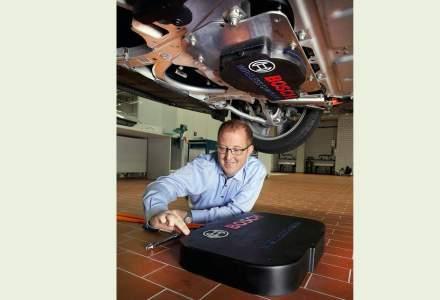 Bosch lucreaza la un concept de incarcare inductiva a masinilor electrice printr-un camp magnetic