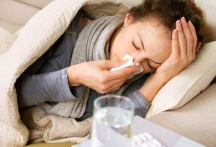 Cazurile de gripa in acest sezon au crescut de 60 de ori fata de alti ani
