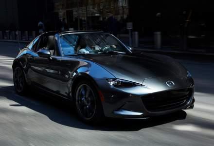 Mazda MX-5 RF este disponibila in Romania. Hardtop-ul retractabil este cel mai rapid de pe piata