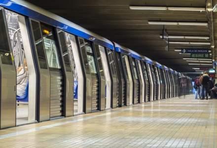 Circulatie pe un singur fir in statia de metrou Mihai Bravu, dupa ce unei persoane i s-a facut rau in tren