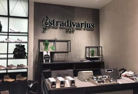Inditex a deschis primul magazin Stradivarius Man din Bucuresti, in Park Lake