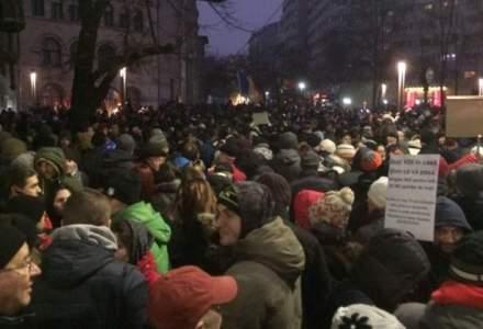 Protestele de la Bucuresti, relatate de cele mai prestigioase institutii media: BBC, CNN, AFP, Euronews, Le Monde