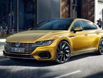 Noul VW Arteon vrea sa fure...