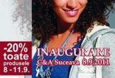 C&A deschide un magazin in Suceava