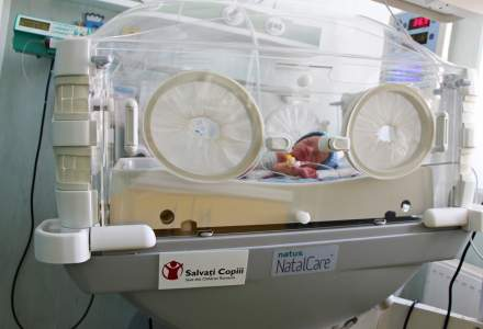 Organizatia Salvati Copiii a donat un incubator performant maternitatii Filantropia