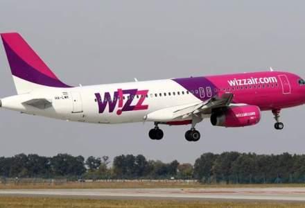 Wizz Air lanseaza trei rute noi de la 104 lei/zbor