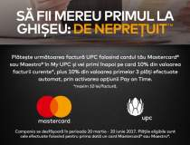 Platesti cu Mastercard? UPC...