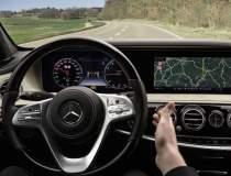 Interiorul noului Mercedes...