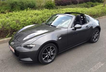 Test cu o decapotabila sport care pare mai scumpa decat este: Mazda MX-5 RF